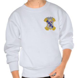 8th Infantry Regiment Patch Pullover Sweatshirts