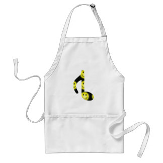 8th Inverted happy face Standard Apron