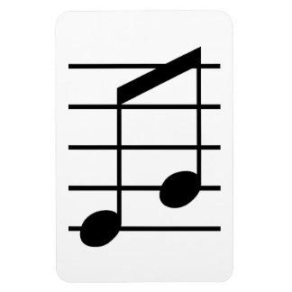 8th note 3 vinyl magnet