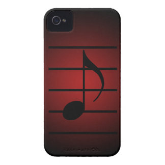 8th note iPhone 4 Case-Mate case