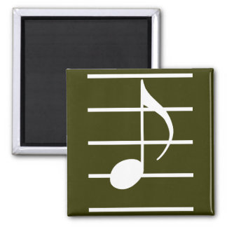 8th note square magnet