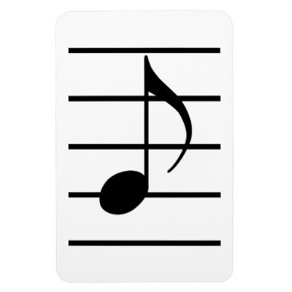 8th note magnet