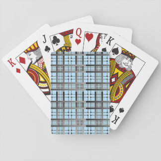 8th Pattern; New Plaid Pattern Playing Cards