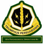 8th Psychological Operations Battalion flash Photo Cutout