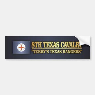8th Texas Cavalry (BA2) Bumper Sticker