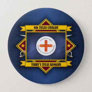 8th Texas Cavalry (v5) 10 Cm Round Badge