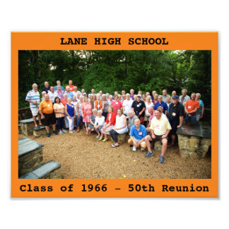 "8x10"" LHS Reunion Photo w/Text"