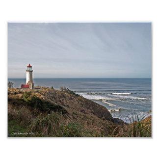 8X10 North Head Lighthouse Photo Art