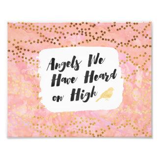 "8x10 Print - ""Angels We Have Heard on High"" Photo Art"