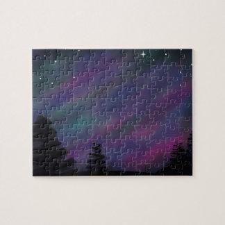 8x10 Puzzle - Aurora Borealis