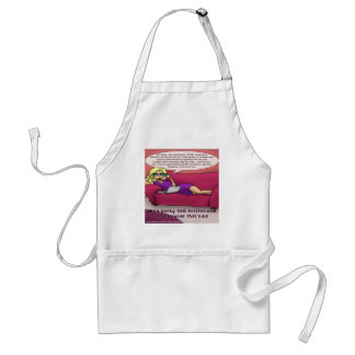 900 Number Geeky SEO Girls Gone  Adult Apron