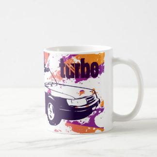 900-vert turbo mug- grunge magenta/orange coffee mug