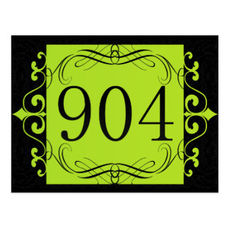904 Area Code Post Card