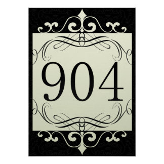 904 Area Code Posters
