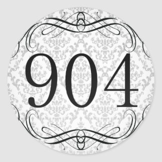 904 Area Code Stickers