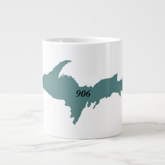 906 Michigan U.P. Jumbo Mug - Teal