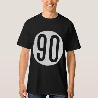 90 Black/White T-Shirt