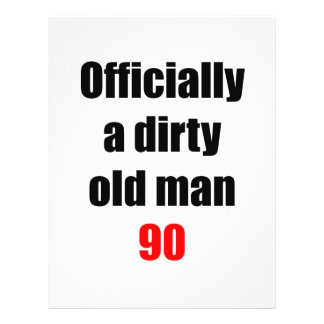 90 Dirty Old Man Flyer