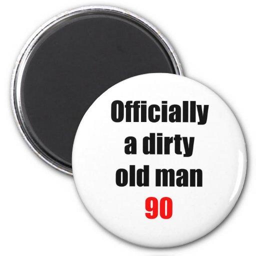 90  Dirty Old Man Fridge Magnets