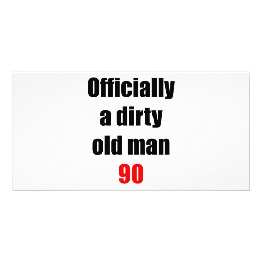 90  Dirty Old Man Photo Cards