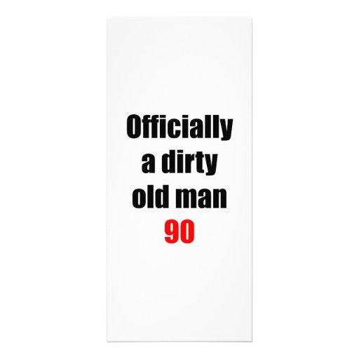 90  Dirty Old Man Custom Rack Card