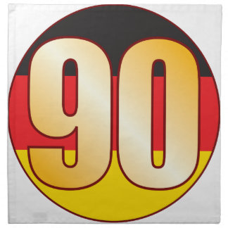 90 GERMANY Gold Napkin