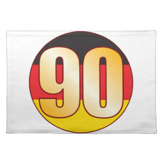 90 GERMANY Gold Placemat