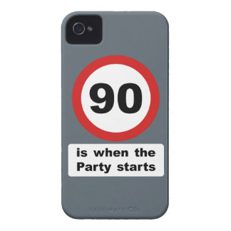 90 is when the Party Starts Case-Mate iPhone 4 Case