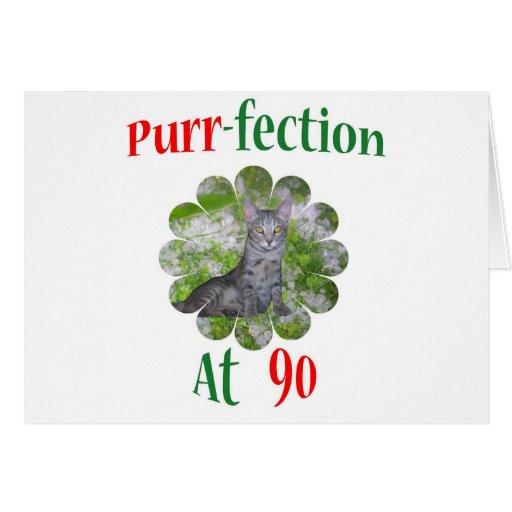 90 Purr-fection Card