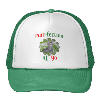 90 Purr-fection Trucker Hats