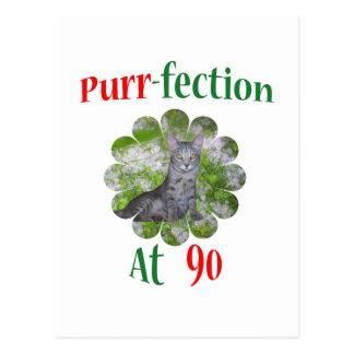 90 Purr-fection Postcard