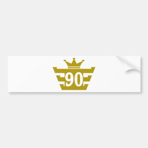 90-Royal.png Bumper Sticker