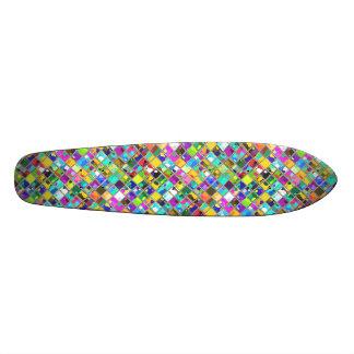 90 s Original Mosaic Tile Art Skate Board