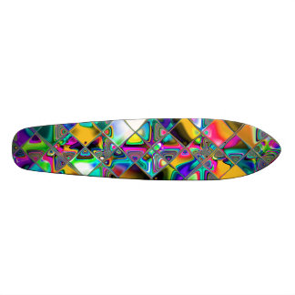90 s Rainbow Original Art Custom Skateboard