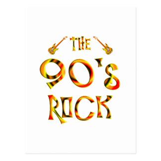 90 s Rock Post Card