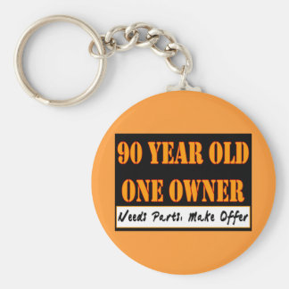 90 Year Old, One Owner - Needs Parts, Make Offer Basic Round Button Key Ring