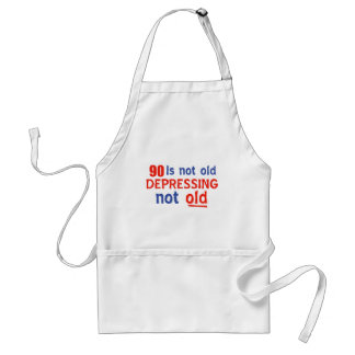 90 years is not old aprons