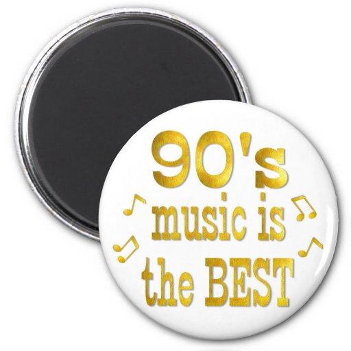 90s Best 6 Cm Round Magnet