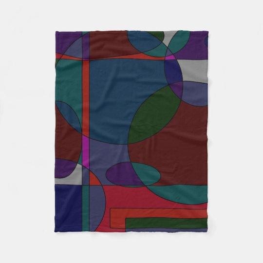 90s Paint Designs Fleece Blanket
