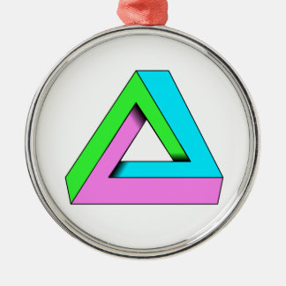 90s pop art design christmas ornament