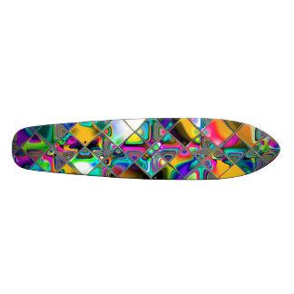 90's Rainbow Original Art 21.3 Cm Mini Skateboard Deck