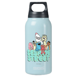90's Sesame Street Vintage Surf Insulated Water Bottle