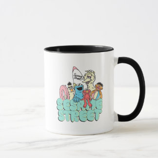 90's Sesame Street Vintage Surf Mug