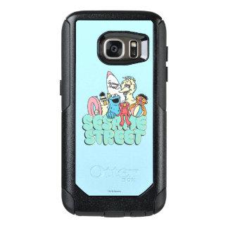 90's Sesame Street Vintage Surf OtterBox Samsung Galaxy S7 Case