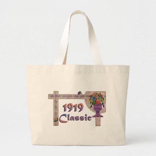 90th Birthday Canvas Bags