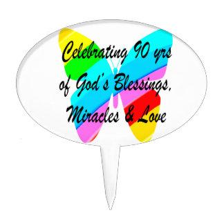 90TH BIRTHDAY BLESSING CAKE PICK