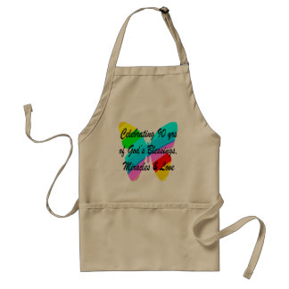 90TH BIRTHDAY BLESSING STANDARD APRON