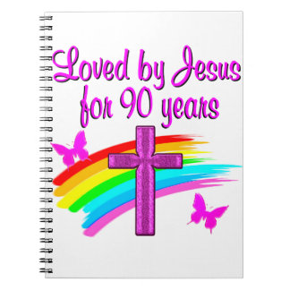 90TH BIRTHDAY BLESSINGS SPIRAL NOTEBOOK