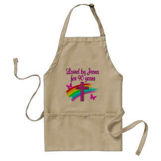 90TH BIRTHDAY BLESSINGS STANDARD APRON