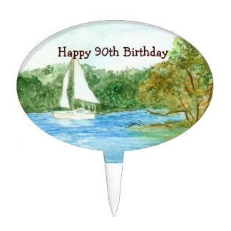 90th Birthday Cake Pick